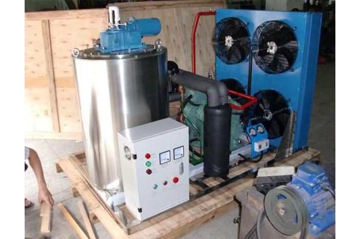3T Sea water Flake Ice Machine To Polynesia