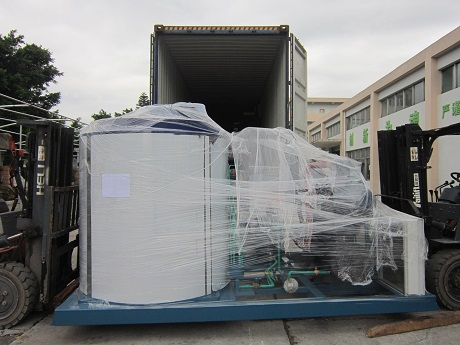 25t Flake Ice Machine Sent To Maldives