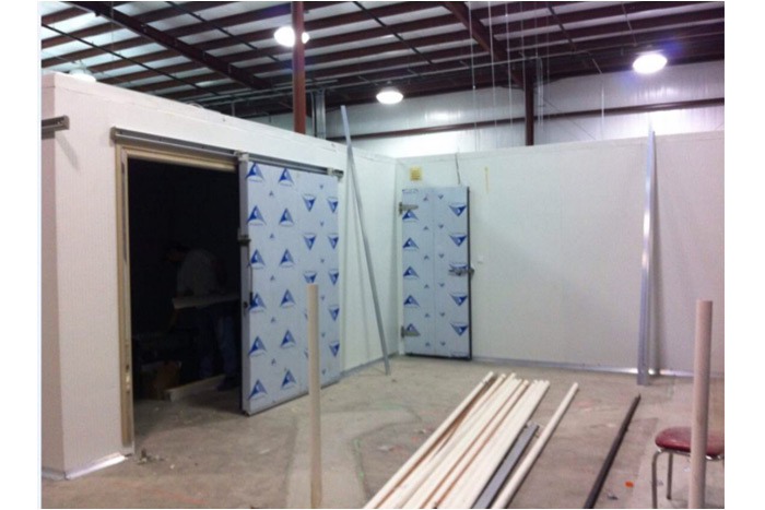 Meat Cold Room Sent To USA