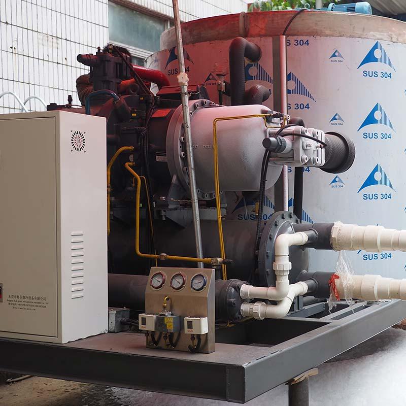 15Ton Flake Ice Machine used sea water